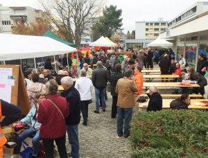 Fête de quartier 2015 de l'association de quartier Croisettes-Tuileries et environs à Epalinges - ambiance