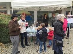 Fête de quartier 2015 de l'association de quartier Croisettes-Tuileries et environs à Epalinges - Cours français pour les mamans