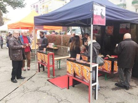Fête de quartier 2015 de l'association de quartier Croisettes-Tuileries et environs à Epalinges - Les Jars Noirs