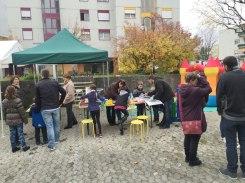 Fête de quartier 2015 de l'association de quartier Croisettes-Tuileries et environs à Epalinges - Ludothèque