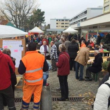 Fête de quartier 2015 de l'association de quartier Croisettes-Tuileries et environs à Epalinges - public