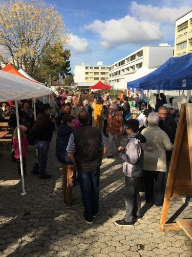 Fête de quartier 2017 de l'association de quartier Croisettes-Tuileries et environs à Epalinges